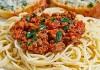 Sauce à spaghetti à Lise